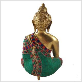 Segnender Buddha Mosaik Hinten