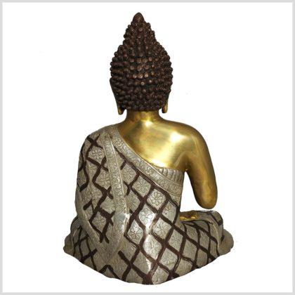 Lehrender Buddha Tricoloure 10,6 KG Hinten