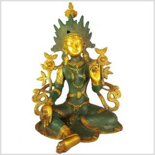 Shyama Grüne Tara Nepalgrün Antik