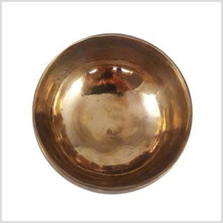 Tibetische Klangschale Kopfschale oben