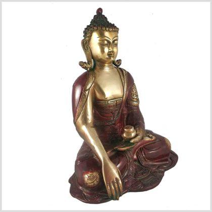 Erdender Buddha seitliche Ansicht links