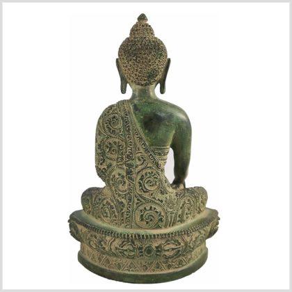 Bhumiparsha Mudra Antik aus Tibet Hinten