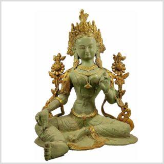 Grüne Tara 7kg antik mintgrün Vorderansicht