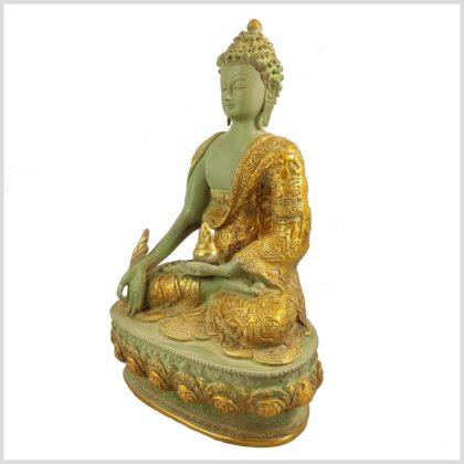 Medizinbuddha Mintgrün Antik Seite