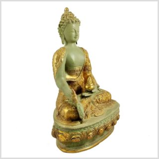Medizinbuddha Mintgrün Antik Seite Links