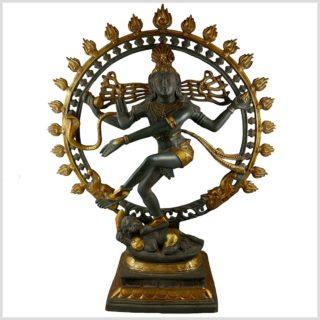Tanzender Shiva 86cm Nepalgrau Vollansicht