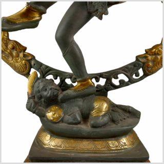 Tanzender Shiva 86cm Nepalgrau Fuß