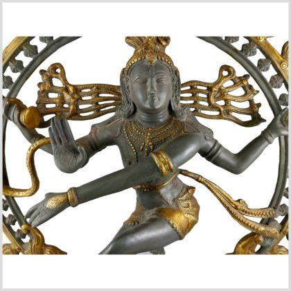 Tanzender Shiva 86cm Nepalgrau Gesicht