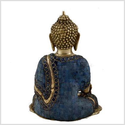 Medizinbuddha Mosaik Fullblue Hinten