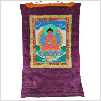 Thangka Amithaba Buddha Vollansicht