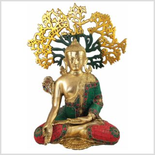 Medizinbuddha mit Lebensbaum