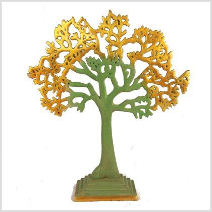 Lebensbaum hellgrüngold Vorderansicht