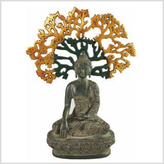 Baum des Lebens mit Buddha Siddartha Bodhibaum Frontansicht