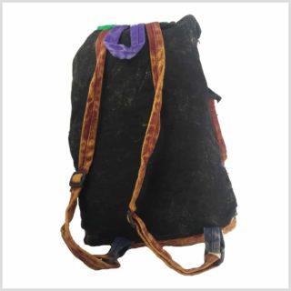 Patchwork Rucksack Rücken