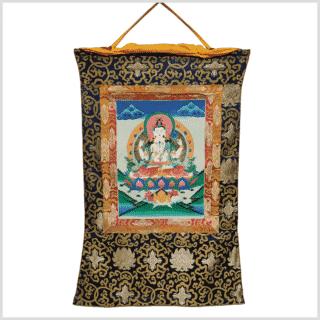 Thangka Avalokiteshvara Vollansicht