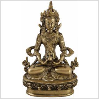 Adibuddha 19cm Messing Vorderansicht