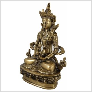 Adibuddha 19cm Messing Seitenansicht Links