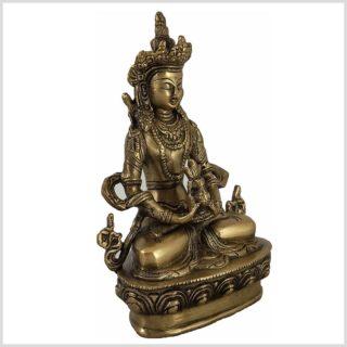 Adibuddha 19cm Messing Seitenansicht