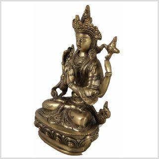 Avalokiteshvara 22cm 1,9 KG Messing Seite Links