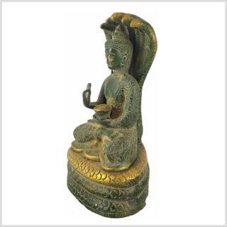 Nag Buddha 1,5kg Nepalgrün Seitenansicht Links