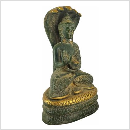 Nag Buddha 1,5kg Nepalgrün Seitenansicht