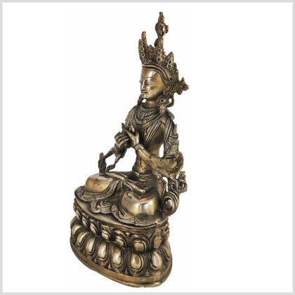 Vajradhara Adibuddha Messing 36cm Seitenansicht Links