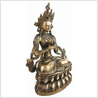 Vajradhara Adibuddha Messing 36cm Seitenansicht