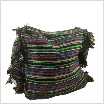 Umhängetasche Aum-Zeichen aus Baumwolle Hinten