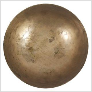 Antike Tibetklangschale 639 Gramm Unten