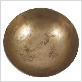 Antike Tibetklangschale 639 Gramm Oben