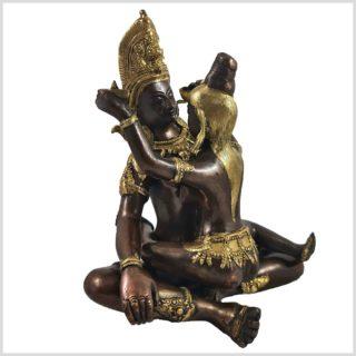 Yab-Yum Buddha Shakti Yab-Yum Messing Kupfer