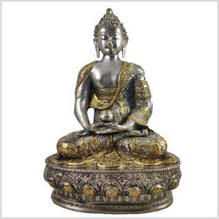 Erleuchteter Buddha Meditationsbuddha Dhyana Mudra Messing 33cm 4KG