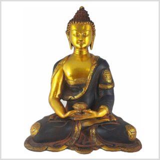 Erleuchteter Buddha Nepalbraun 6KG