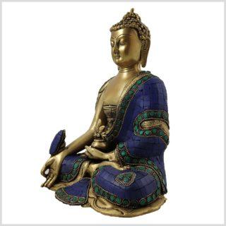 Medizinbuddha Asthamangala Blau Seite Links