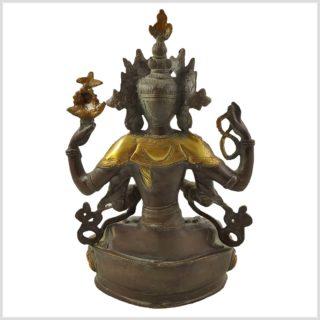 Avalokiteshvara 3,5KG Coffeebraun Hinten