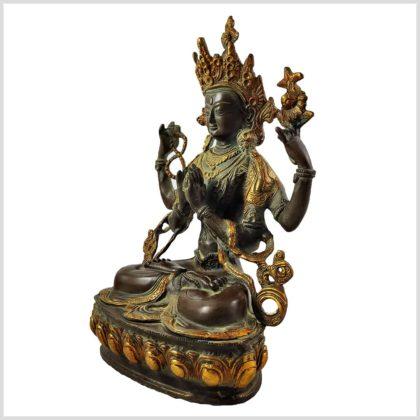 Avalokiteshvara 3,5KG Coffeebraun Links