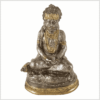 Hanuman Messing versilbert Vorderansicht