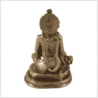 Hanuman Messing Hinten