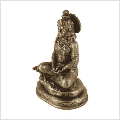 Hanuman Messing Seite Rechts