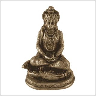 Hanuman Messing Vorderansicht