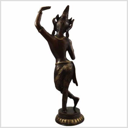 Maya Devi Antikbraun Hinten