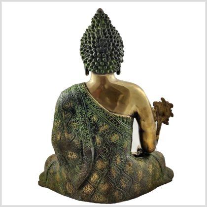 Medizinbuddha 9,6 grünantik Hinten