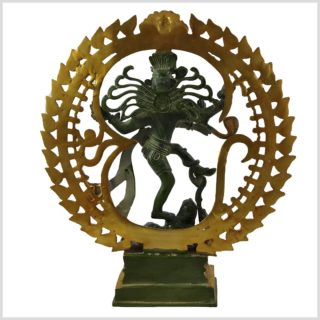 Tanzender Shiva 6.6KG Mintgrün Hinten