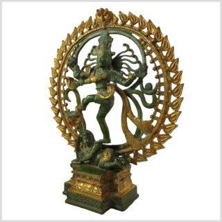 Tanzender Shiva 6.6KG Mintgrün Seite Links