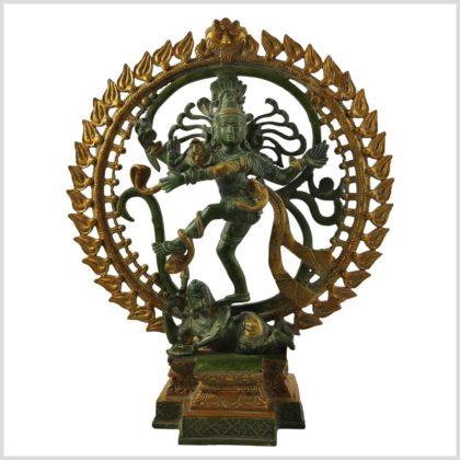 Tanzender Shiva 6.6KG Mintgrün Vorderansicht