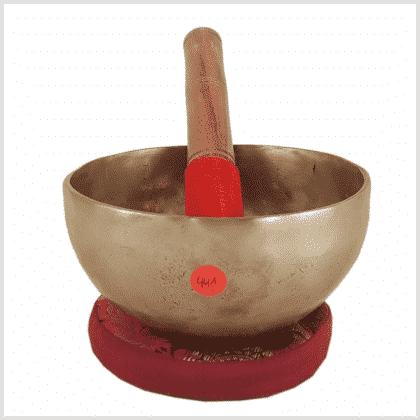 Halschakra Klangschale Tibet 441g