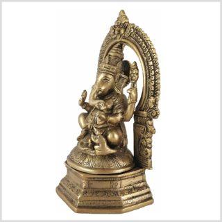 Ganesha auf Podest Seitenansicht
