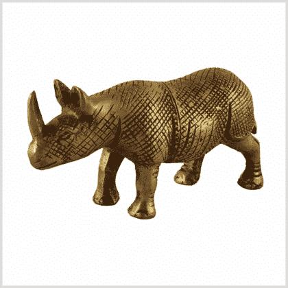 Nashorn Messing Seite Links
