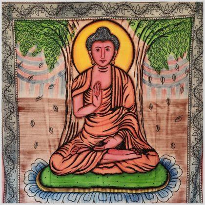 Wandtuch Buddha Gesamtansicht