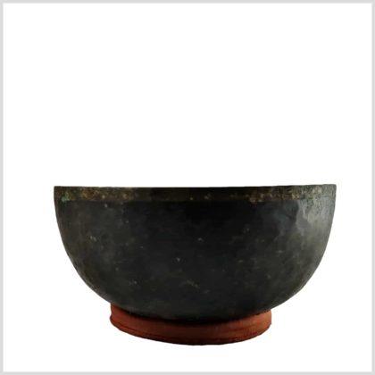Herzklangschale Tibet Seitenansicht 898g